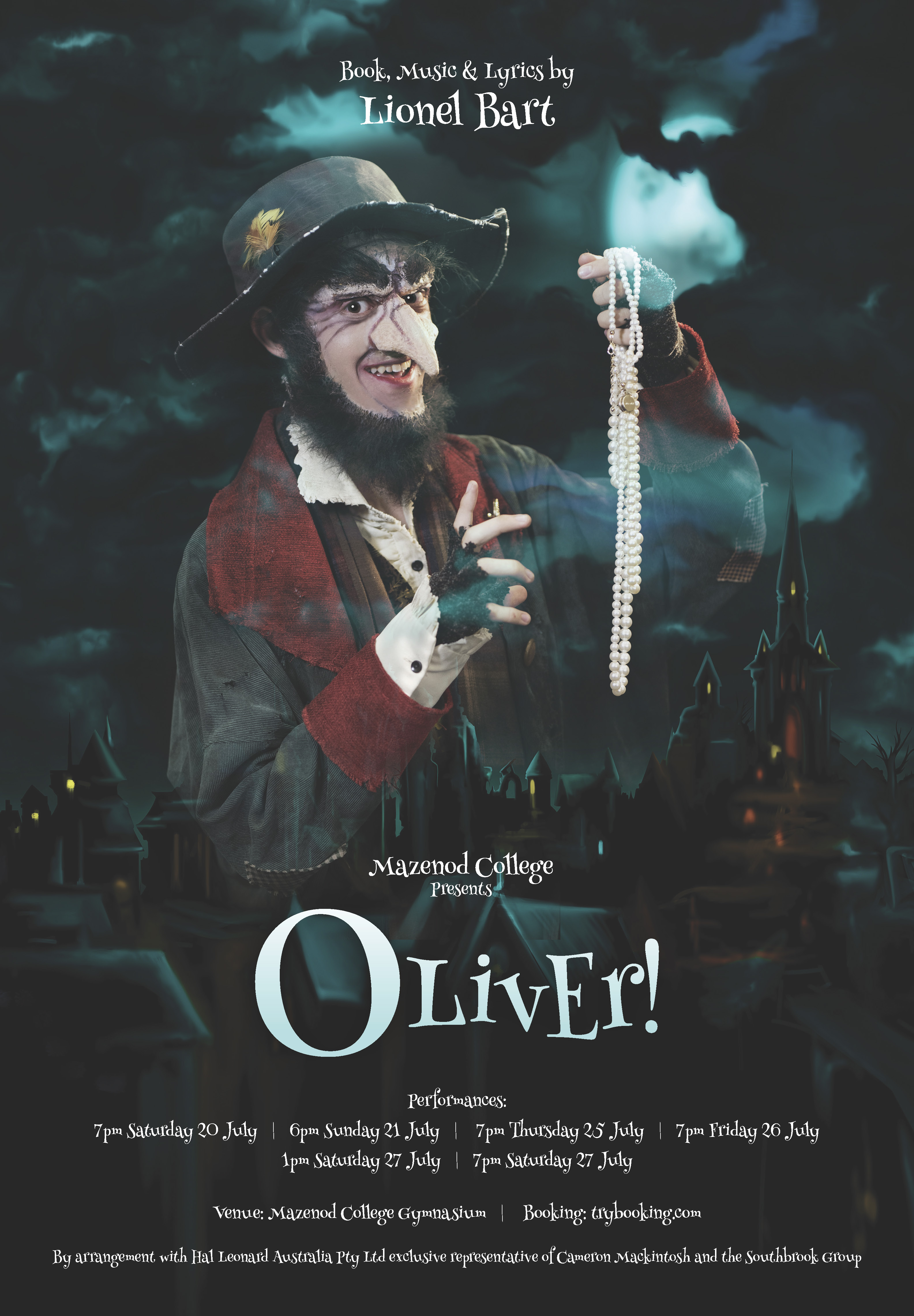 'Oliver!' Tickets Available now.