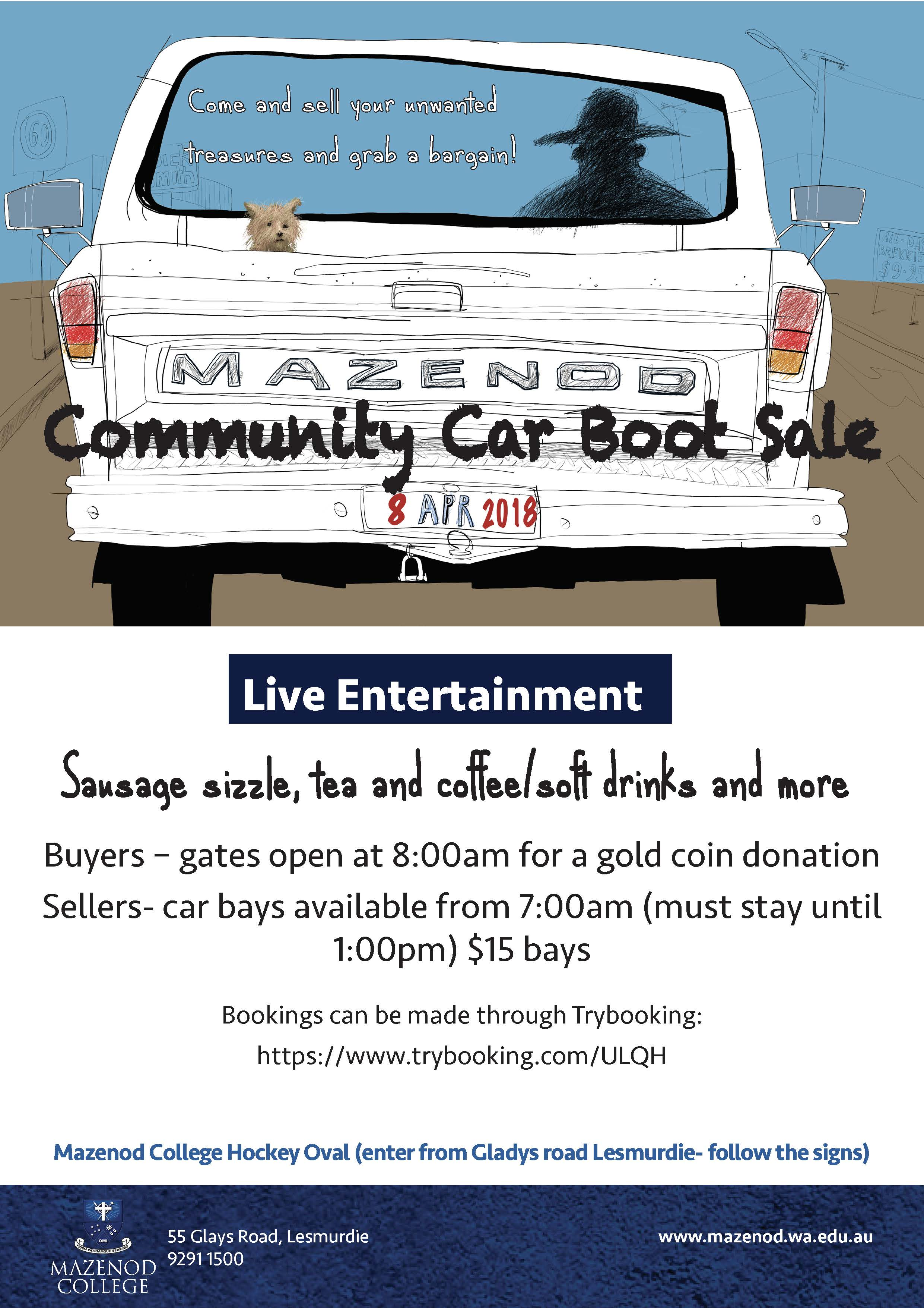 PA Car Boot Sale Flyer1